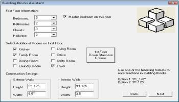 Home Plan Software Building Blocks